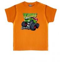 COCHES TORTUGAS NINJA - Camiseta Unisex