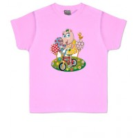 PEPA PIG BIKE - Camiseta Unisex