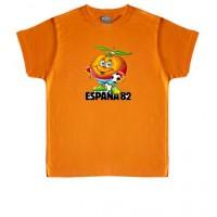 ESPAÑA 82 NARANJITO - Camiseta Unisex