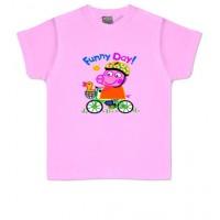 FUNNY DAY! PEPPA PIG - Camiseta Unisex