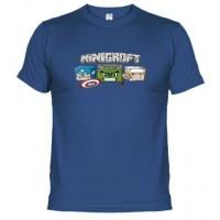 MINICROFT - Camiseta Unisex