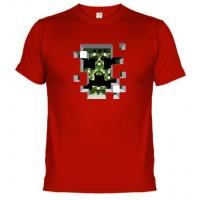 MINECRAFT SONRISA - Camiseta Unisex