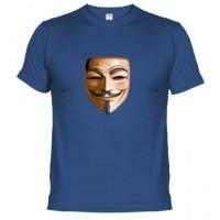 MASCARA VENDETTA - Camiseta Unisex