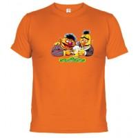 Barrio Sésamo Epi y Blas - Camiseta Unisex