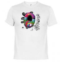 MUSIC - Camiseta Unisex