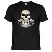 GANGSTER SKULL - Camiseta Unisex