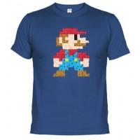 MARIO PIXELADO - Camiseta Unisex
