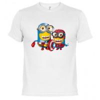 SPIDER AMERICA - Camiseta Unisex