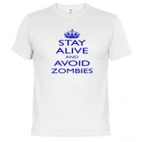 Avoid Zombies, blue