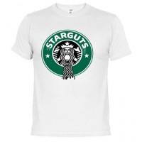 Starguts logo Starbucks Zombie