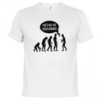Evolución-Dejad de seguirme  - Camiseta unisex