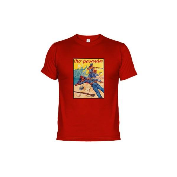 a368cb5d Camiseta algodón originales divertidas y gran calidad No Pasaran ...