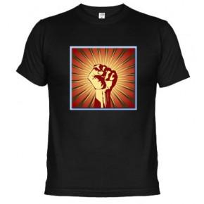 Puño al alto Reivindicativas  - Camiseta unisex