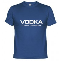 VODKA CONECTING PEOPLE LOGO - Camiseta unisex