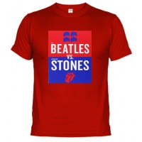 Rolling Vs Beatles - Camiseta unisex
