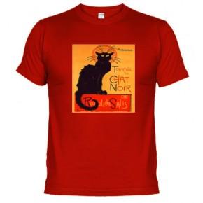 CARTEL GATO NEGRO - Camiseta unisex