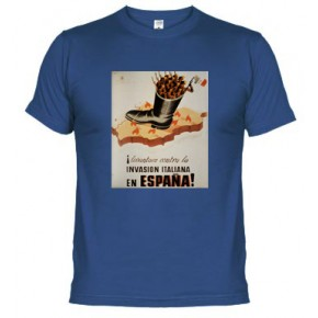 CARTELISMO CONTRA LA INVASION ITALIANA - Camiseta unisex