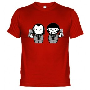 pulp fiction muñecos - Camiseta unisex