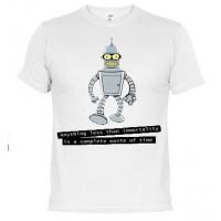 Bender Futurama - Camiseta unisex