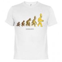 Homer Sapien - Camiseta unisex