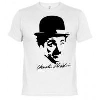 Charles Chaplin  - Camiseta unisex