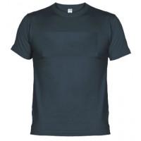 Camiseta de algodón Unisex azul marino para personalizar