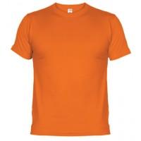 Camiseta de algodón Unisex naranja  para personalizar