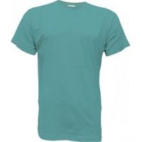 Camiseta de algodón Unisex azul océano para personalizar