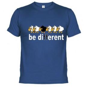 Be diffrent obeja negra  - Camiseta unisex