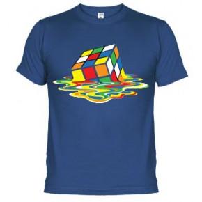 Cubo de rubik fundido   - Camiseta unisex