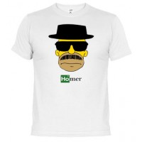Heisenberg Breaking Bad Homero - Camiseta unisex