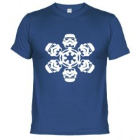 Snow-Star Wars stormtrooper  - Camiseta unisex