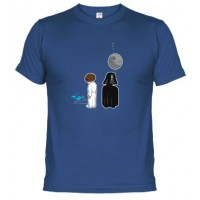 Star Wars dark y leia - Camiseta unisex