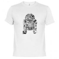 R2-D2 Star wars  - Camiseta unisex