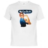 We can do it - Samarreta unisex