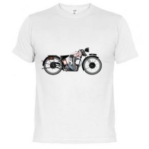 1933-norton-motorcycle - Samarreta unisex