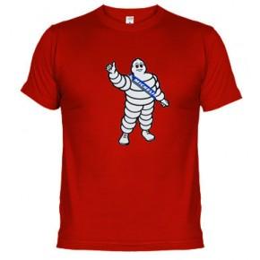 BIBENDUM muñeco michelin  - Camiseta unisex