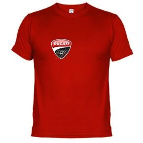 Ducati Corse escudo pequeño - Camiseta unisex