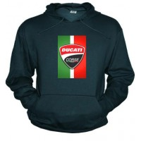 Ducati Corse vertical - Sudadera unisex