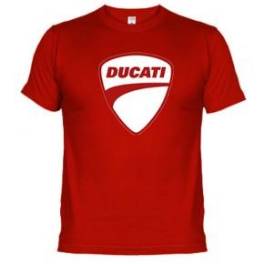 Ducati logo rojo - Samarreta unisex
