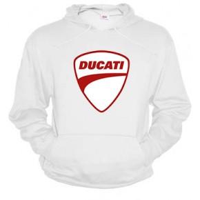 Ducati logo rojo - Sudadera unisex