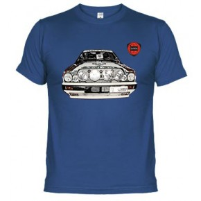 Lancia Integrale rally - Camiseta unisex