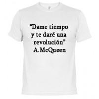 Dame tiempo y te dare una revolución -  Camiseta unisex