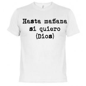 Hasta mañana -  Camiseta unisex
