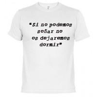 No soñar -  Camiseta unisex