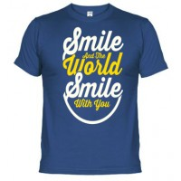 Smile the World -  Camiseta unisex