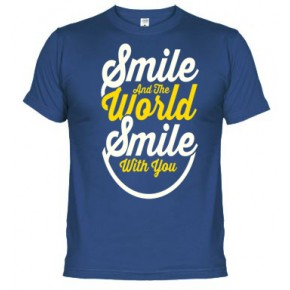 Smile the World -  Camiseta unisex
