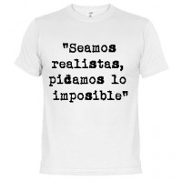 Somos realistas - Samarreta unisex