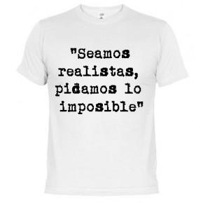 Somos realistas -  Camiseta unisex