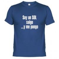 SOY UN SOL SALGO Y ME PONGO LOGO - Samarreta unisex